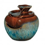 HoMedics WF-LILY EnviraScapeTM Lily Ceramic Relaxation Fountain