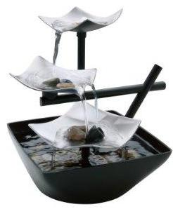 HoMedics WFL-SLVS Envirascape Relaxation Fountain